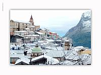 Il centro storico innevato - The historical centre with the snow (1)
